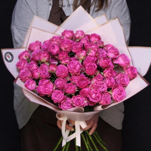 15 кустовых роз премиум😍
