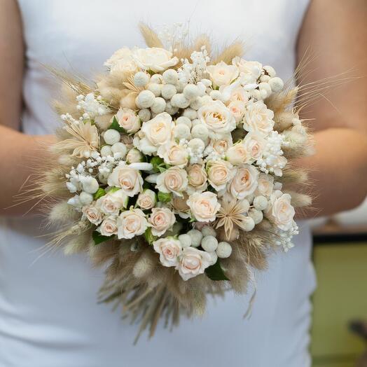 Букет невесты Веста
