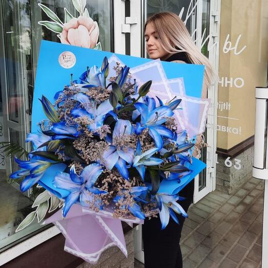 Синии лилии