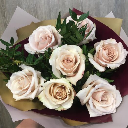 Розы Латте кофе