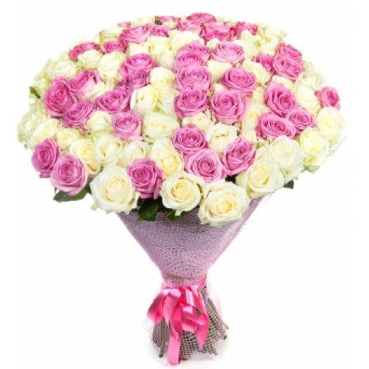 Букет 79 роз: букеты цветов на заказ Flowwow