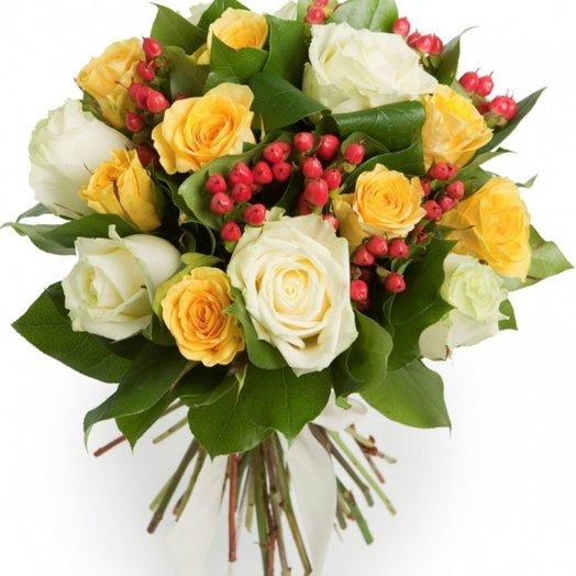 Теплые дни: букеты цветов на заказ Flowwow