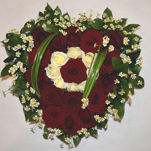Дела сердечные: букеты цветов на заказ Flowwow