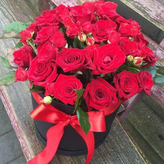 Букет Огонь: букеты цветов на заказ Flowwow