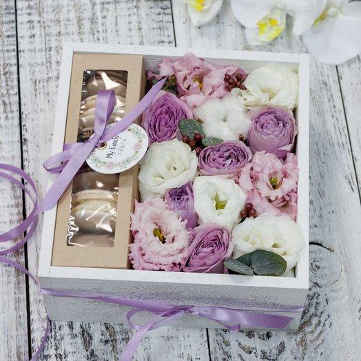 Woodbox 1636: букеты цветов на заказ Flowwow