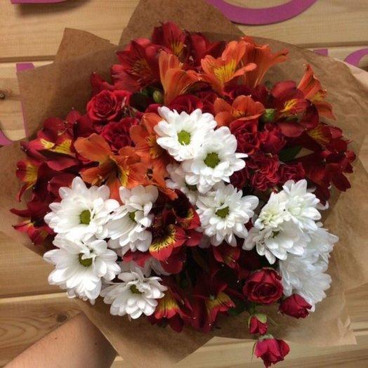 Попурри букет: букеты цветов на заказ Flowwow