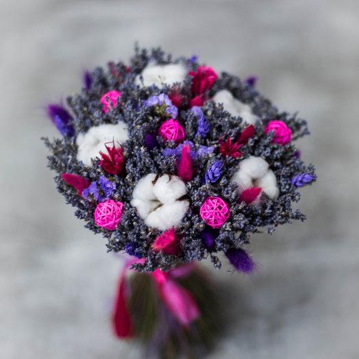 Фиолетово-розовое долговечное лавандовое настроение