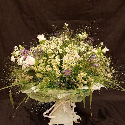 Камилла с паникум: букеты цветов на заказ Flowwow