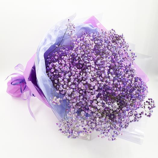 Purple cloud: flowers to order Flowwow