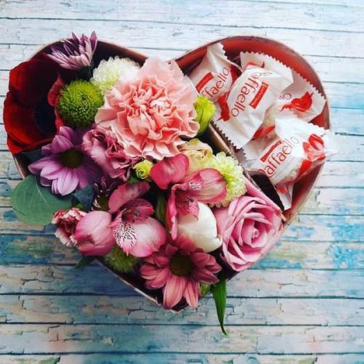 Розовое счастья: букеты цветов на заказ Flowwow
