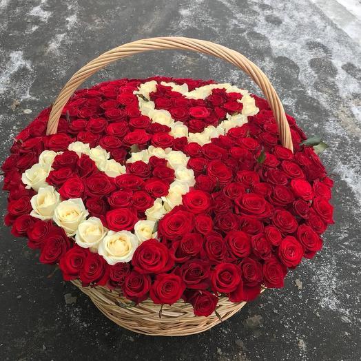 Слияние двух сердец️: букеты цветов на заказ Flowwow