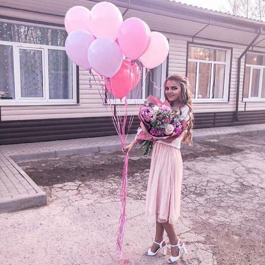 Шикарный розовый комбо