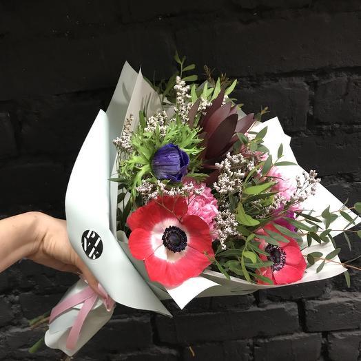 Весенний комплимент: букеты цветов на заказ Flowwow