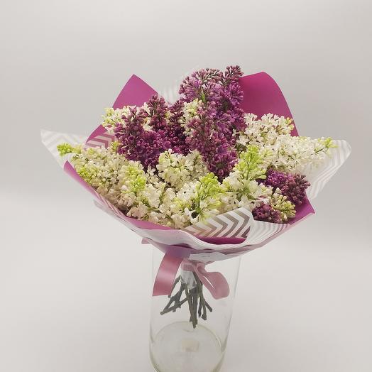 Букет из сирени: букеты цветов на заказ Flowwow