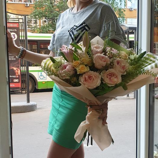 Анжелика: букеты цветов на заказ Flowwow