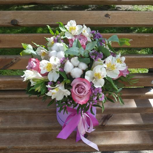 Сиреневое облако к дню учителя: букеты цветов на заказ Flowwow