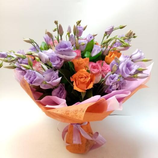 Букет Оранжевое настроение: букеты цветов на заказ Flowwow