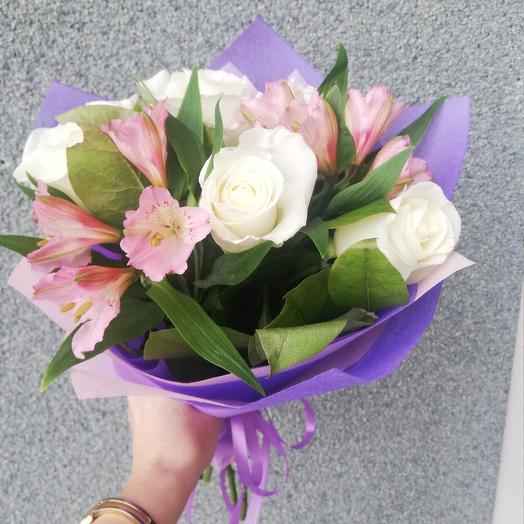 Нежная нимфа: букеты цветов на заказ Flowwow
