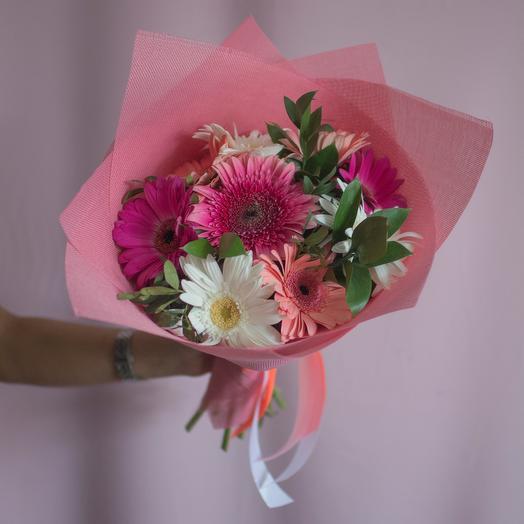 Букет из 9 гербер: букеты цветов на заказ Flowwow