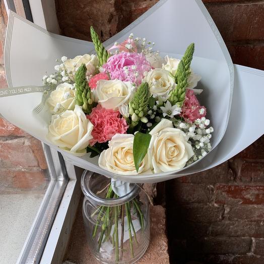 С пионом: букеты цветов на заказ Flowwow