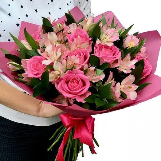 Желаю Счастья: букеты цветов на заказ Flowwow