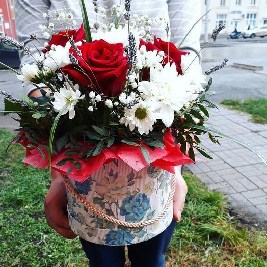 В ритме танго: букеты цветов на заказ Flowwow