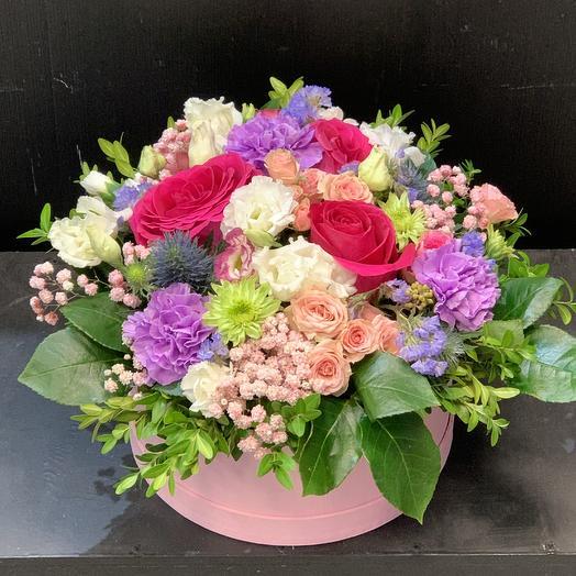 Композиция -подарочная: букеты цветов на заказ Flowwow