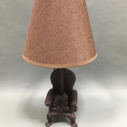 Лампа Кот в кресле: букеты цветов на заказ Flowwow