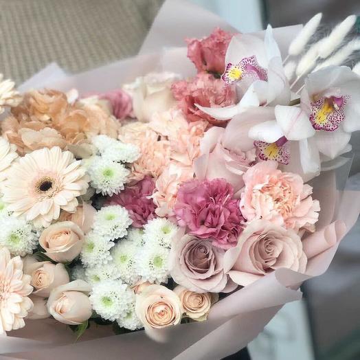 Ангельские крилья: букеты цветов на заказ Flowwow