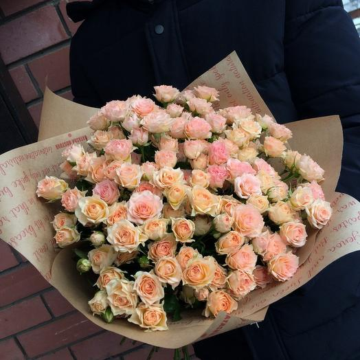 29 кустовых роз🎉🎉🎉🎊🎊: букеты цветов на заказ Flowwow