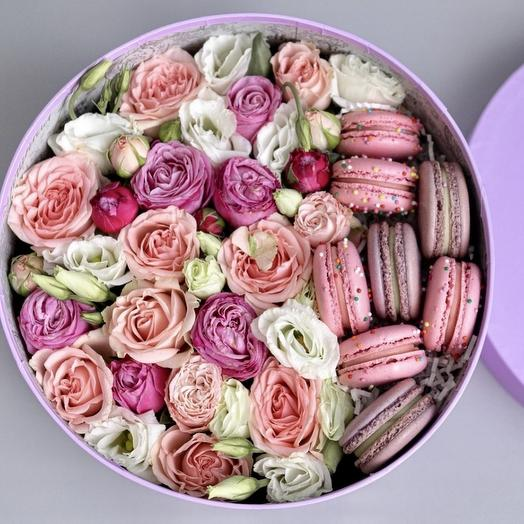 Цветочки с макаронами