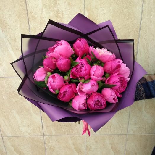 17 сочных пионов: букеты цветов на заказ Flowwow