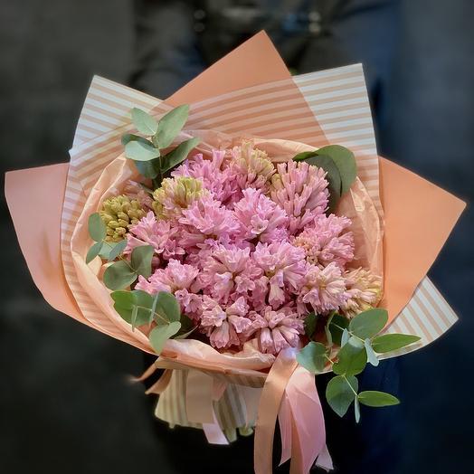 Букет ажурных гиацинтов: букеты цветов на заказ Flowwow