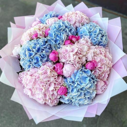 Маршмелло: букеты цветов на заказ Flowwow