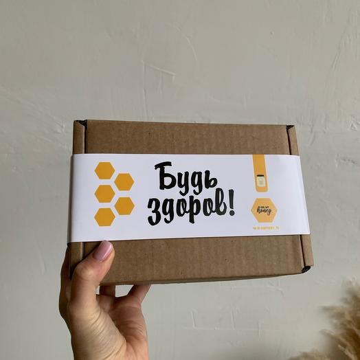 Подарочный набор крем-мёда «Будь здоров»