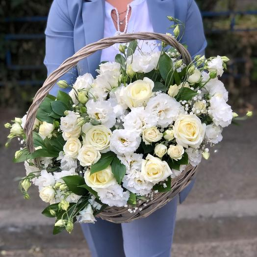 "Basket "" Wedding flowers»"