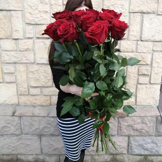 """Красные розы """"Букет страсти !"""""""