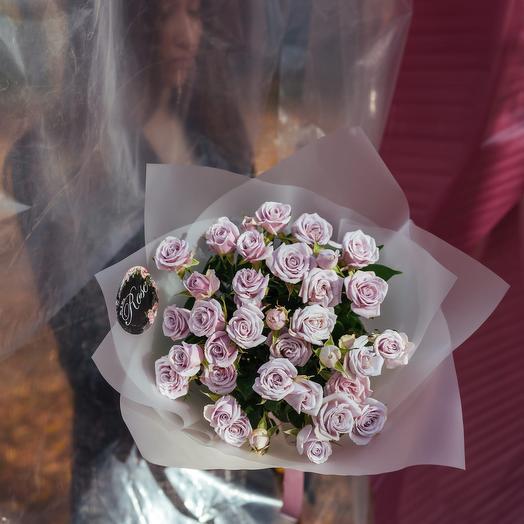 Букет из кустовых роз Сильвер Шедоу