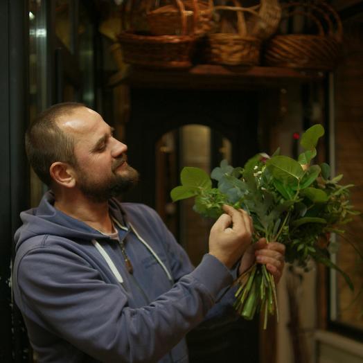 Букет 2 от мастера-флориста