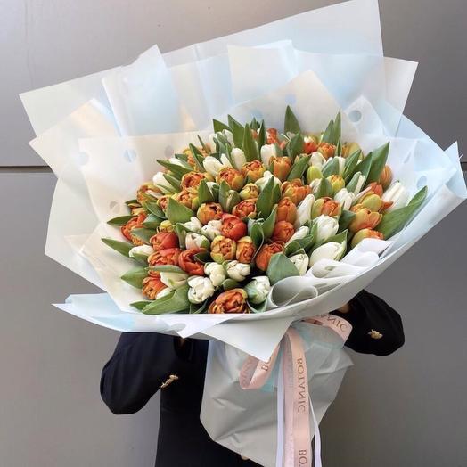 101 тюльпан в оформление
