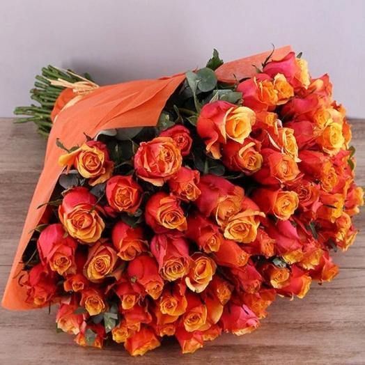 45 ярких роз