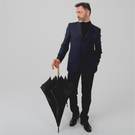 Мужской зонт - трость 23240