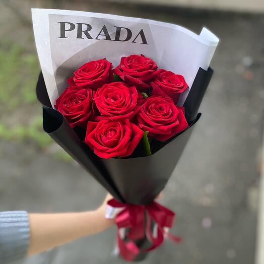 7 роз PRADA
