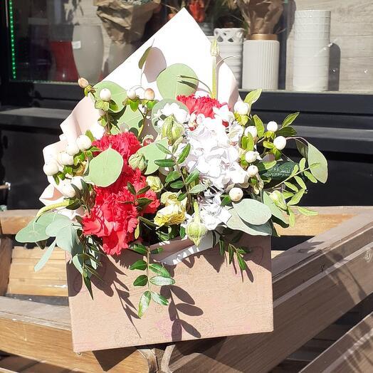 Цветы в коробке(Нэля)