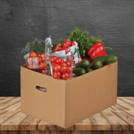 Продуктовый подарочный набор ЭКО салатный