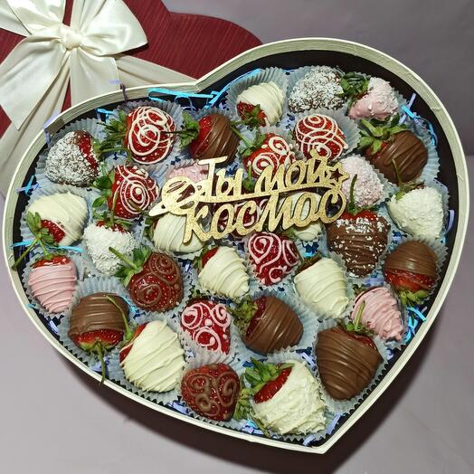 Клубника в шоколаде L