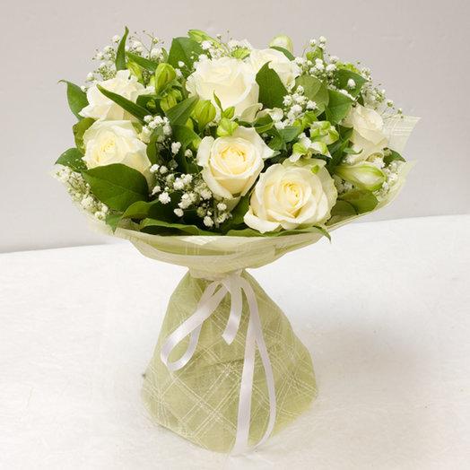 Букет цветов Горный хрусталь: букеты цветов на заказ Flowwow