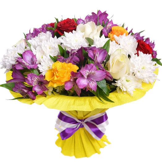Букет№8 Мелани: букеты цветов на заказ Flowwow