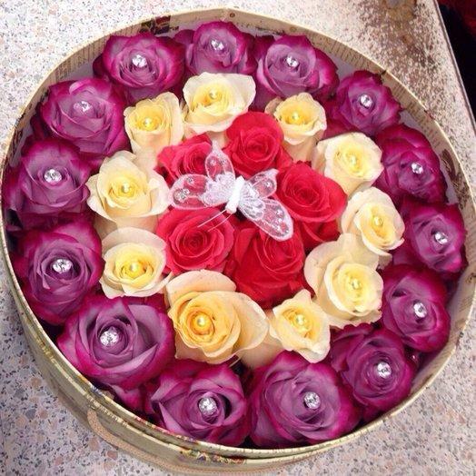 Сверкающий: букеты цветов на заказ Flowwow