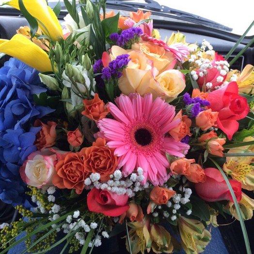 Букет Вдохновение: букеты цветов на заказ Flowwow